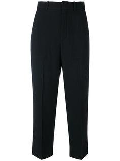 укороченные костюмные брюки Chloé