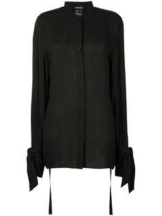 блузка с завязками на рукавах Ann Demeulemeester
