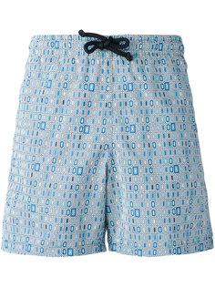 шорты для плавания с геометрическим принтом Fashion Clinic Timeless