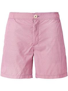 шорты для плавания с мелким принтом Fashion Clinic Timeless