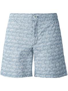 шорты для плавания с застежкой на пуговице Fashion Clinic Timeless