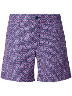 шорты для плавания с цепочным принтом Fashion Clinic Timeless