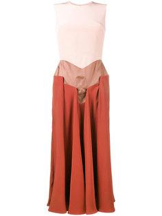 платье без рукавов Madara Roksanda