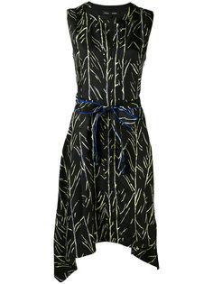 платье с растительным принтом Proenza Schouler