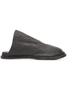 сандалии из кожи кенгуру Guidi