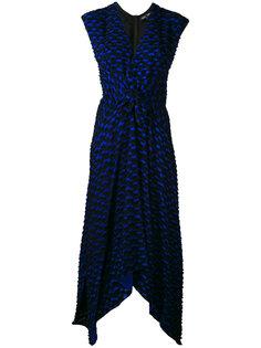 платье с геометрическим узором Proenza Schouler
