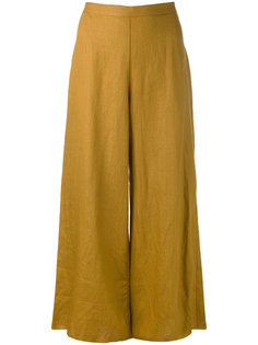 укороченные широкие брюки Simon Miller