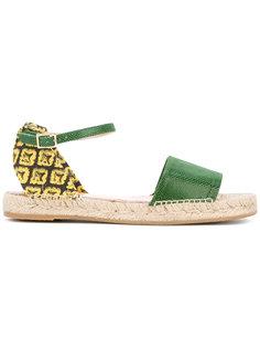 сандалии Pineapple Charlotte Olympia