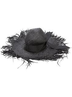шляпа с эффектом поношенности Gigi Burris Millinery