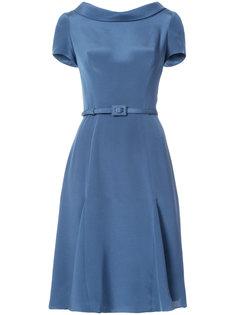 расклешенное платье миди Carolina Herrera