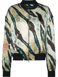 куртка-бомбер с принтом Baja East