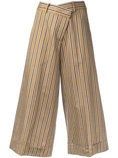 укороченные широкие брюки Monse