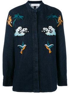 джинсовая рубашка Palm Spring Victoria Victoria Beckham