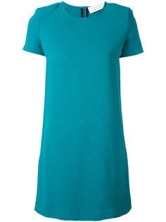 однотонное платье-шифт Gianluca Capannolo