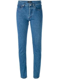 облегающие джинсы A.P.C.