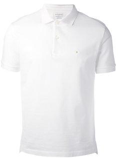 рубашка-поло с логотипом на груди Ballantyne