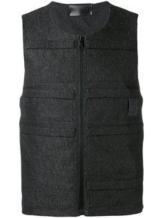 джинсовый жилет-бомбер Letasca