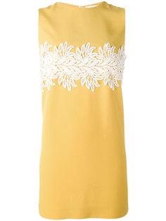 мини-платье с кружевной отделкой Sara Battaglia
