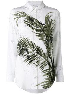 рубашка с принтом в виде листьев Equipment