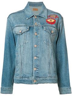 джинсовая куртка с вышивкой Mother