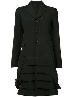 пальто с рюшами Comme Des Garçons