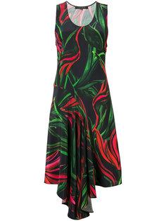 платье-шифт с принтом Barbara Bui