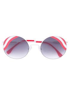 круглые солнцезащитные очки Hypnoshine Fendi Eyewear