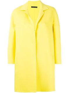 пальто строгого кроя Fabiana Filippi