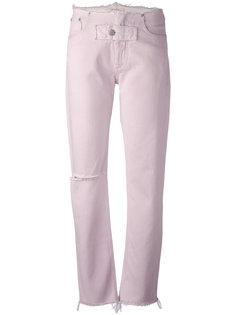 джинсы с бахромой Alyx