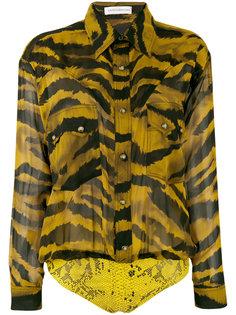 рубашка с животным принтом  Faith Connexion