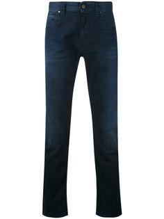 однотонные брюки чинос  Armani Jeans