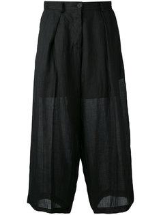 укороченные расклешенные брюки Isabel Benenato
