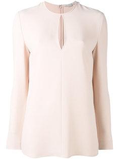 блузка из вискозного микса Stella McCartney
