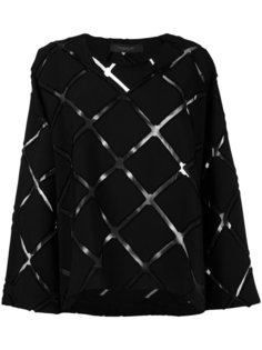 блузка с ромбовидным узором Federica Tosi