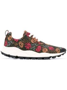 кроссовки с цветочной вышивкой Flower Mountain