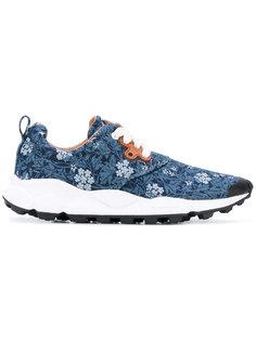 кроссовки с цветочным принтом Flower Mountain