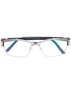очки с квадратной оправой Cazal
