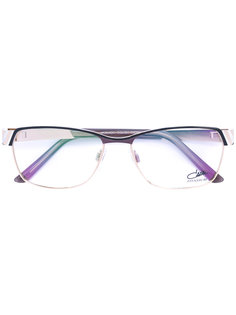 эмалированные очки с прямоугольной оправой  Cazal