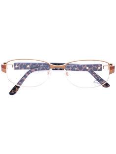 очки с круглой оправой Cazal