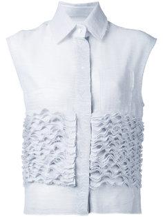 рубашка без рукавов Ruffle Stuck Steven Tai