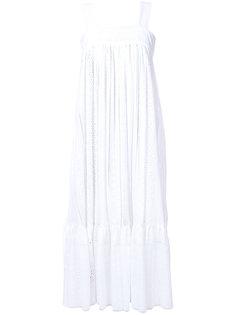 расклешенное платье миди Flow The Label
