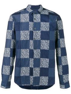лоскутная рубашка Sophnet.