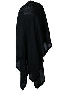 платье-плащ с открытым плечом  Yohji Yamamoto