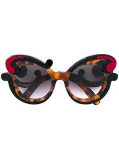 солнцезащитные очки Minimal Baroque Prada Eyewear