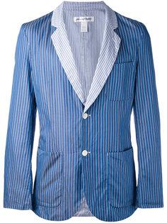 блейзер в полоску  Comme Des Garçons Shirt