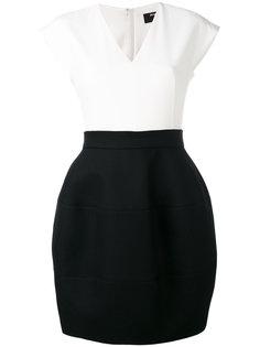 платье без рукавов с контрастными панелями Paule Ka