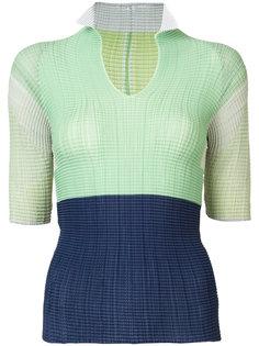 плиссированная блуза Issey Miyake