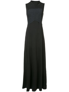 длинное платье без рукавов Y-3