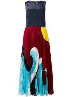 платье-шифт с рисунком Red Valentino