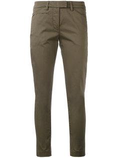 укороченные брюки скинни Dondup